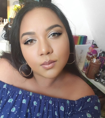 Total make-up look Natasha Denona. (Star Palette)