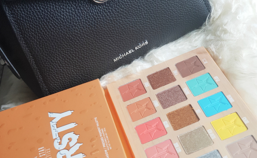 Focus sur la palette de la collection Eté Jeffree Star : Thirsty